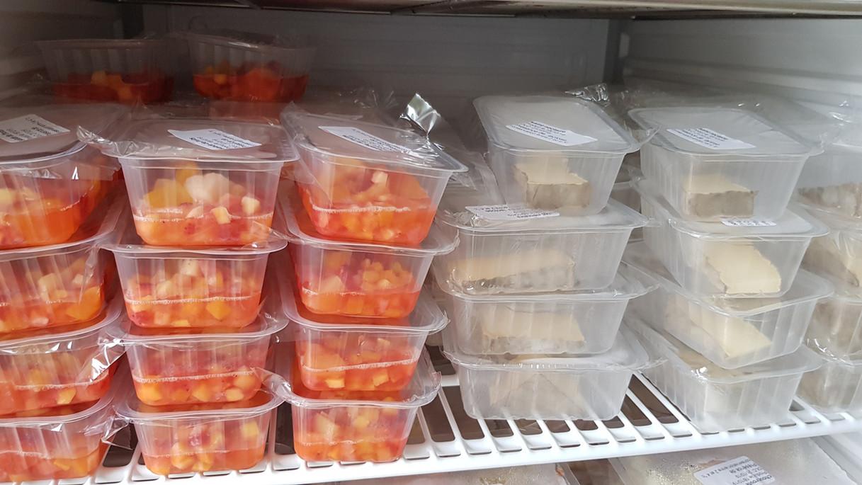 Stockage des aliments en frigo