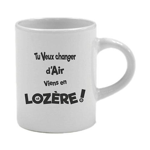 6 TASSES A CAFÉ - LOZERE - NOIR