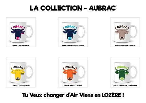 6 MUGS AUBRAC - LA COLLECTION