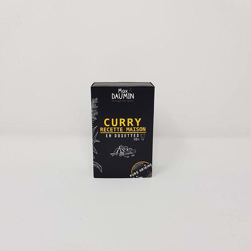 Epices Curry Recette Maison en Dosettes