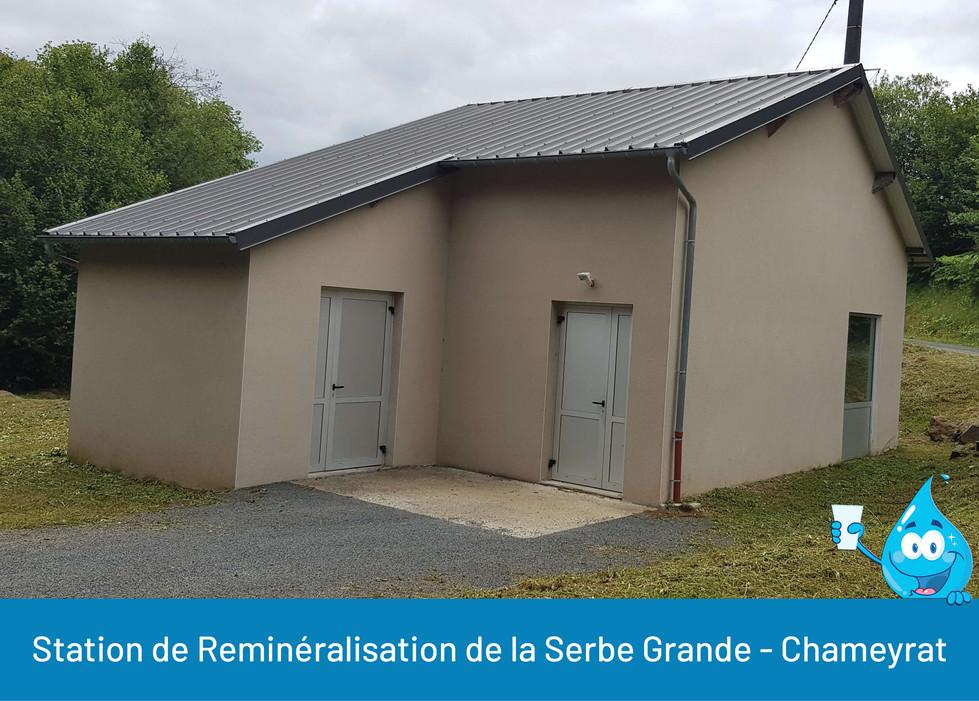 STATION DE REMINERALISATION DE LA SERBE