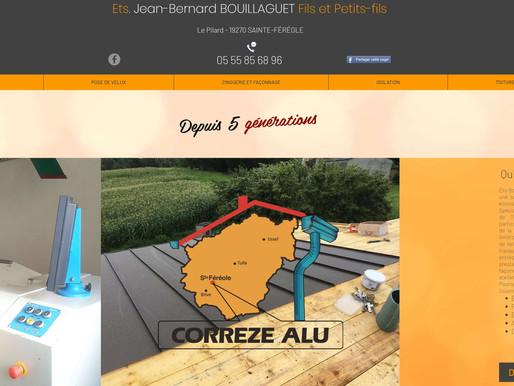 Bouillaguet et Fils Couvreur à Sainte Féréole - Nouveau site web