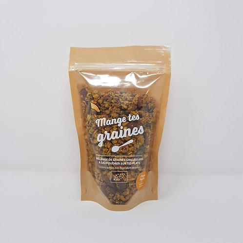 Topping de Graines Bio Potimarron Curry Doux