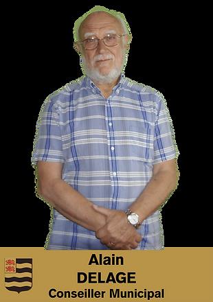 ALAIN DELAGE CONSEILLER MUNICIPAL DE SAINT MEXANT