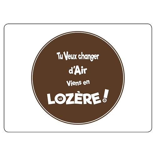 MAGNET - LOZERE - MARRON
