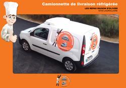 Camionnette-de-livraison-réfrigérée