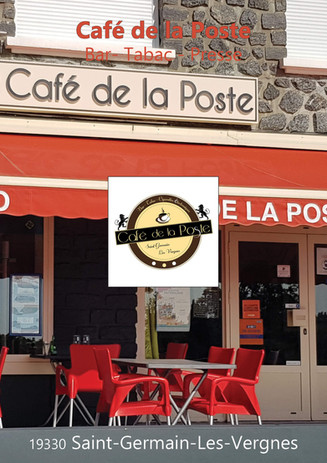 CAFE DE LA POSTE SAINT GERMAIN LES VERGN