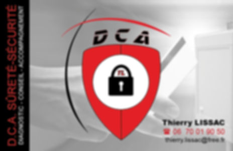 DCA SURETE SECURITE A CHAMBOULIVE CARTE
