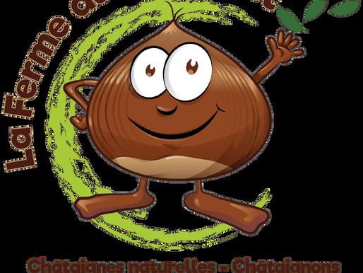 La Ferme du Chatenet à Lagraulière - Logo