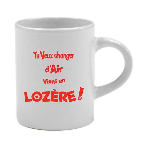 6 TASSES A CAFÉ - LOZERE - ROUGE