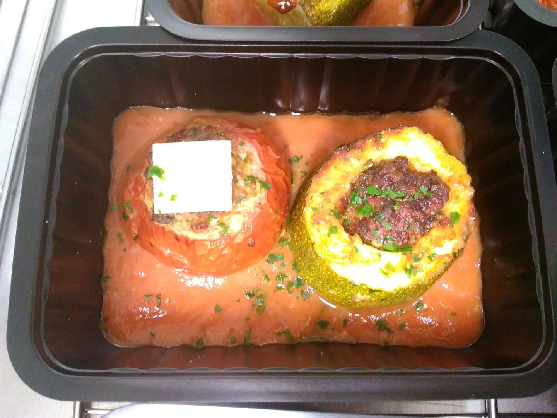 Courgettes et tomates farcies