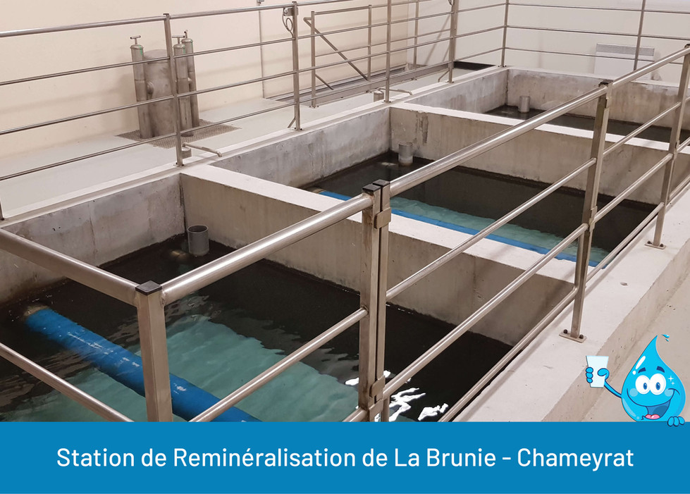 STATION DE REMINERALISATION DE LA BRUNIE