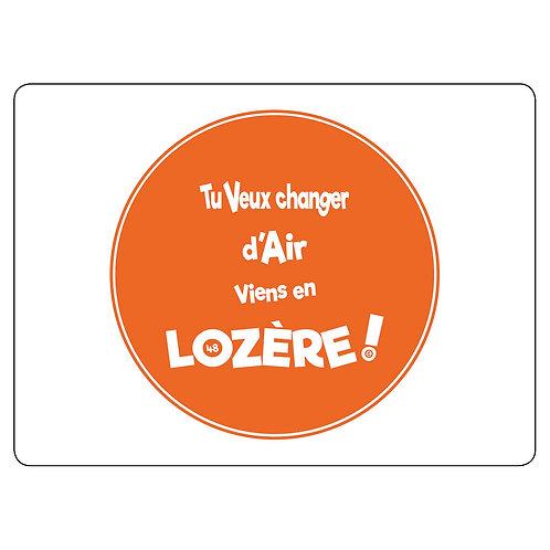 MAGNET - LOZERE - ORANGE