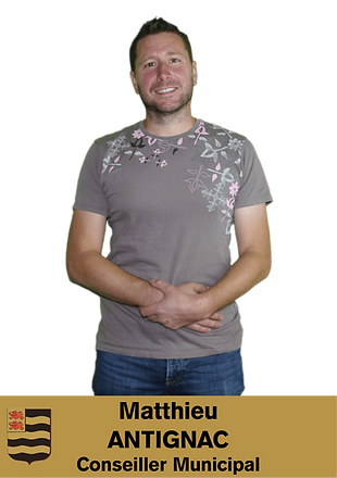 MATTHIEU ANTIGNAC CONSEILLER MUNICIPAL DE SAINT MEXANT