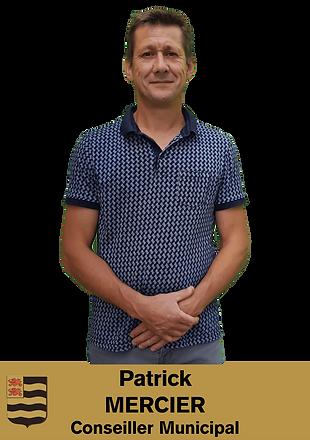PATRICK MERCIER CONSEILLER MUNICIPAL DE SAINT MEXANT