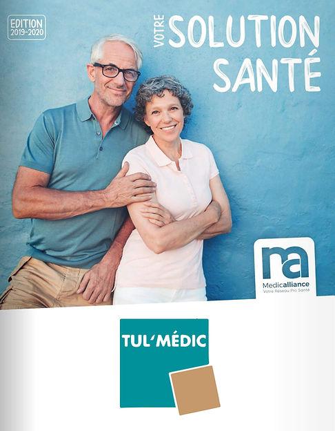 COUVERTURE CATALOGUE MEDIC ALLIANCE 2019