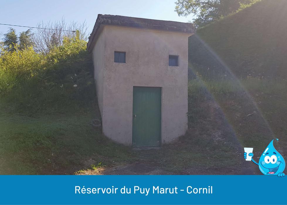 RESERVOIR DU PUY MARUT CORNIL SYNDICAT D