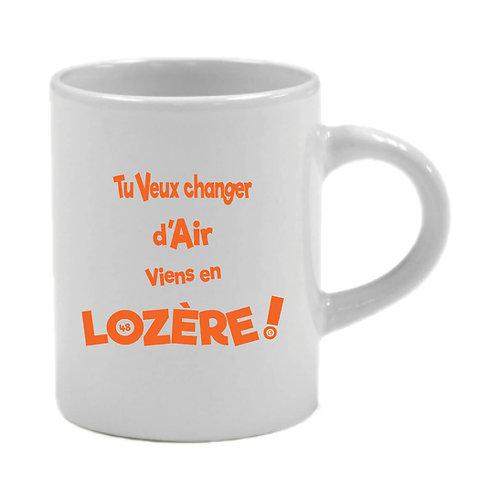 6 TASSES A CAFÉ - LOZERE - ORANGE