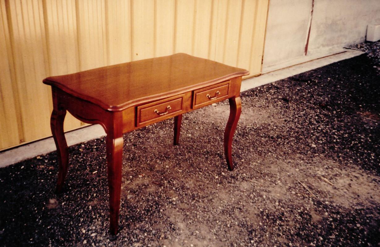 FABRICATION TABLE EN BOIS MENUISERIE LIB