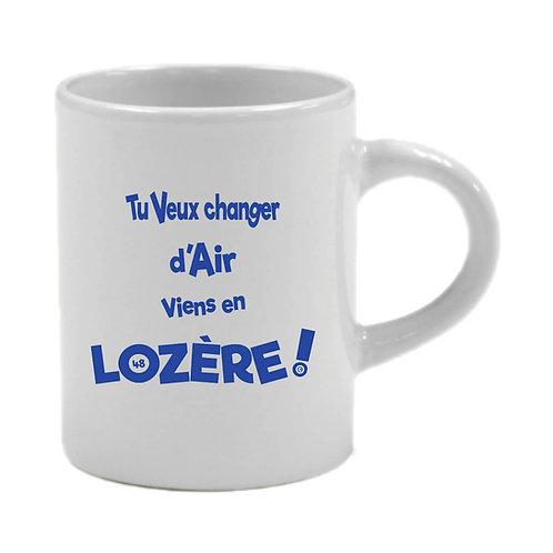 6 TASSES A CAFÉ - LOZERE - BLEU
