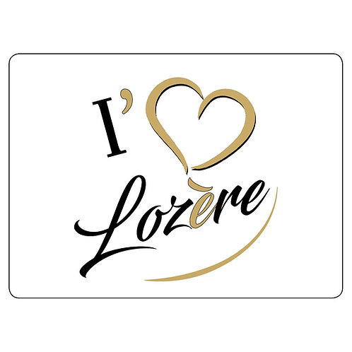 MAGNET - I LOVE LOZERE - CAFÉ