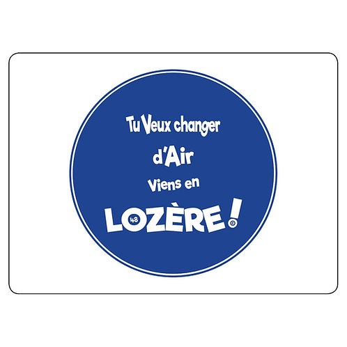 MAGNET - LOZERE - BLEU