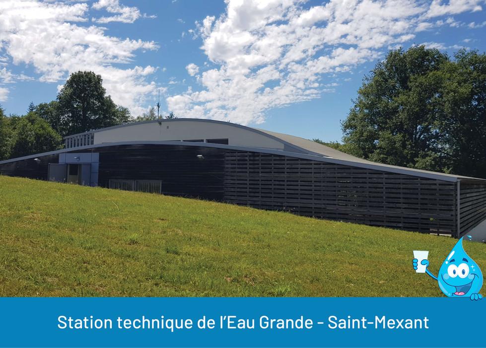 STATION TECHNIQUE EAU GRANDE SAINT MEXAN