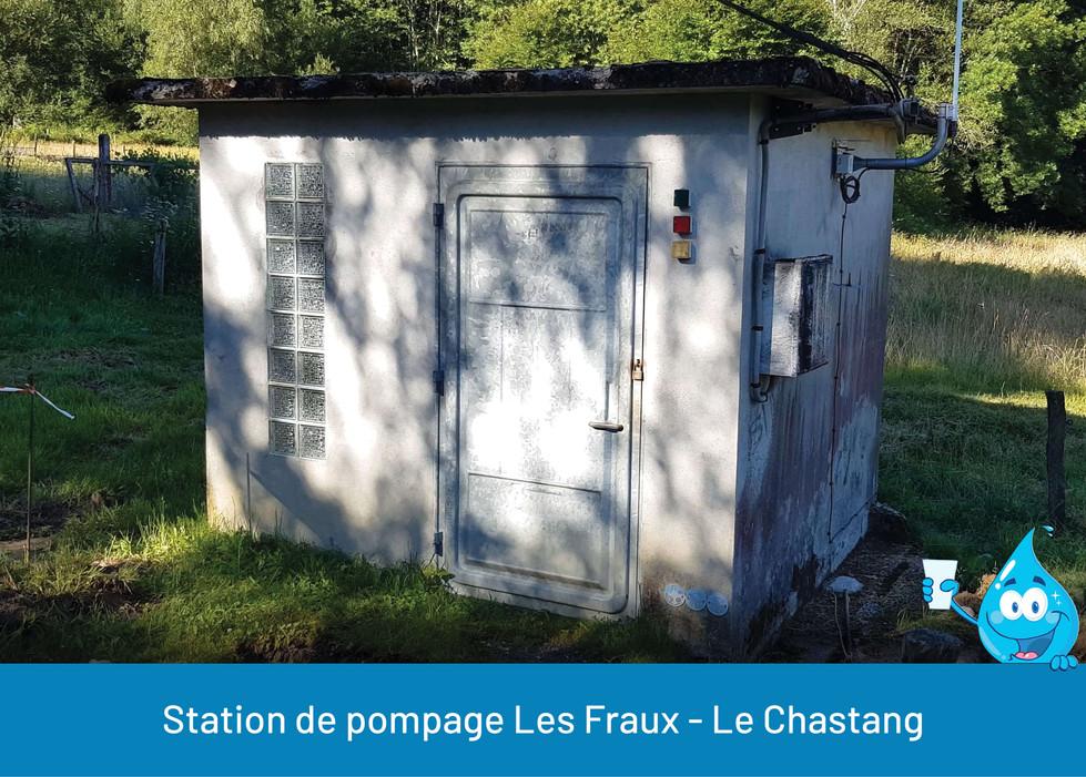 STATION DE POMPAGE LES FRAUX LE CHASTANG