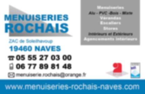 MENUISERIES ROCHAIS A NAVES CARTE DE VIS