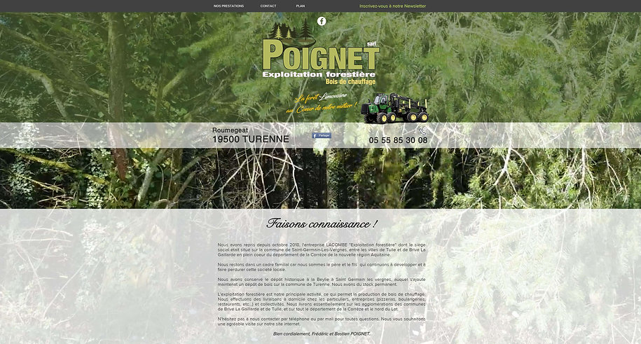 POIGNET SARL EXPLOITATION FORESTIERE TUR