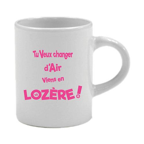 6 TASSES A CAFÉ - LOZERE - ROSE