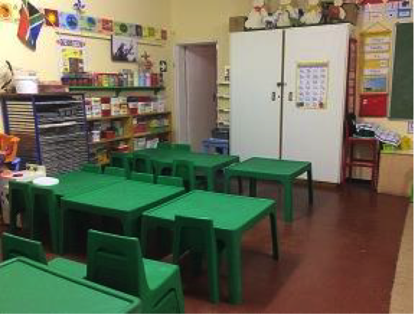 Leere Klassenzimmer!