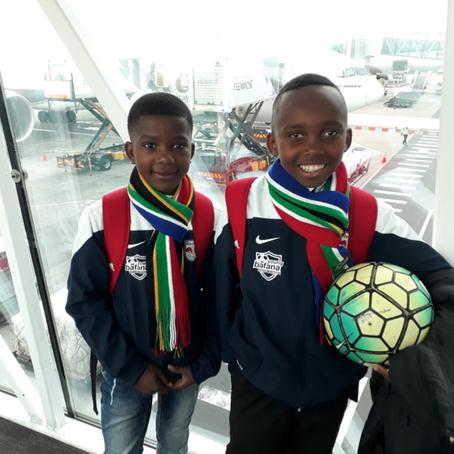 Young Bafana bei der Fußball WM 2018!