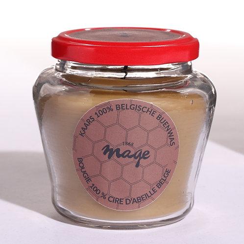 Beeswax candle / Bougie à la cire d'abeille