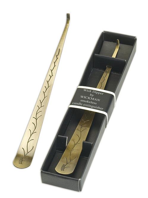 Brass wickdipper / Eteignoir en laiton