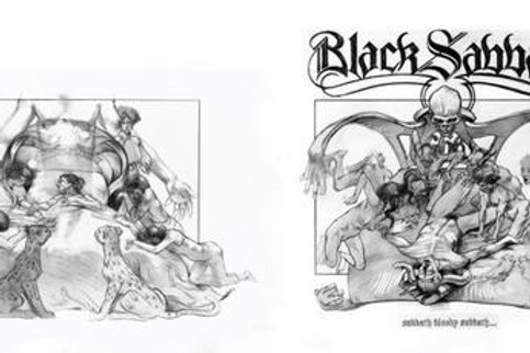 Sabbath Bloody Sabbath Album Sketches