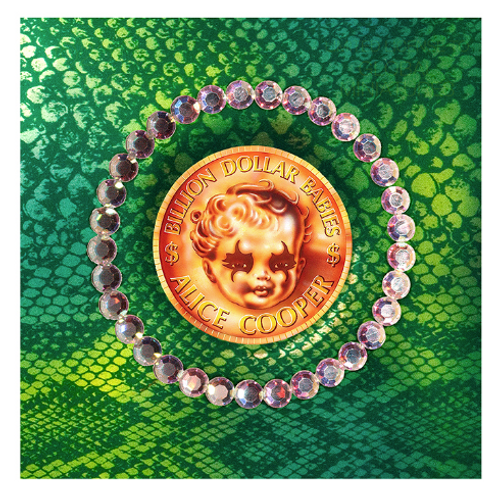 Alice Cooper - Billion Dollar Babies, Front Cover
