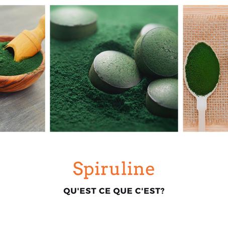 La spiruline, qu'est ce que c'est exactement?