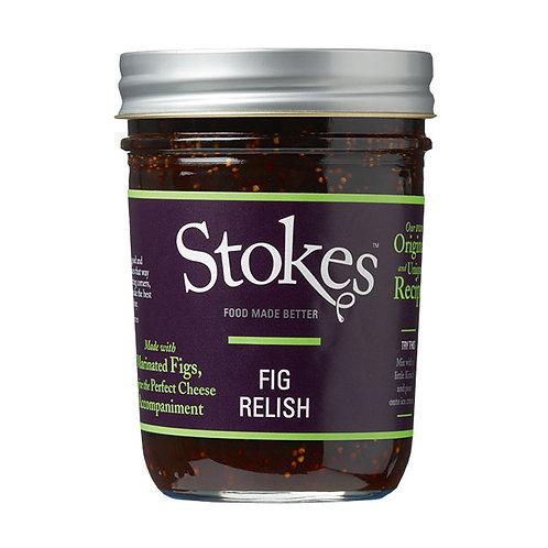 Stokes Fig Relish 250g