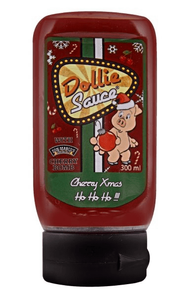 Dollie Sauce Cherry Xmas 300ml