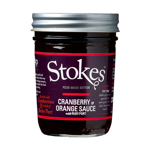 Stokes Bloody Cranberry&Orange Sauce