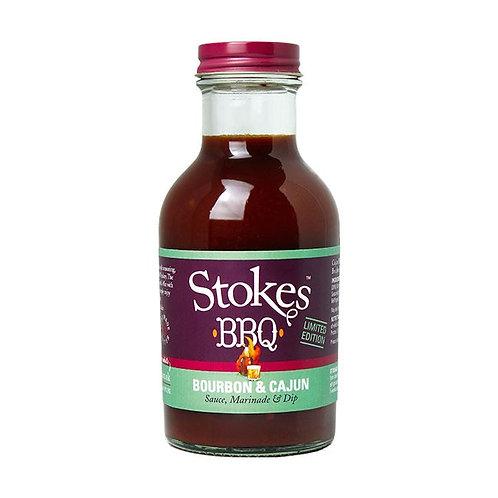 Stokes BBQ Sauce Bourbon&Cajun 259ml