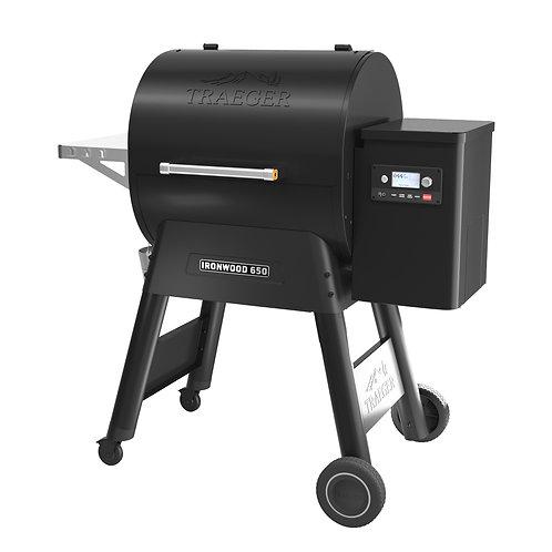 Traeger Ironwood 650/885 Pellet Grill schwarz