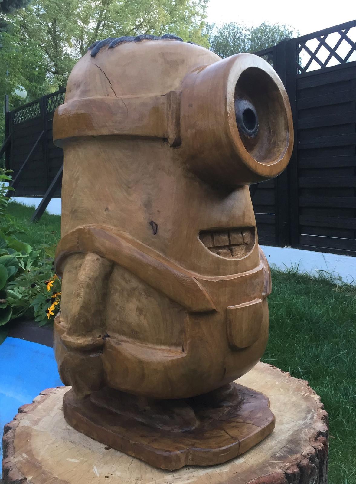 kettensägenkunst | bechtheim | chainsaw carvings schnaitmann