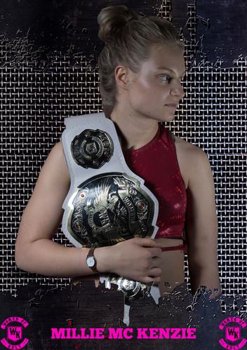 Women of Kult Champion Millie McKenzie