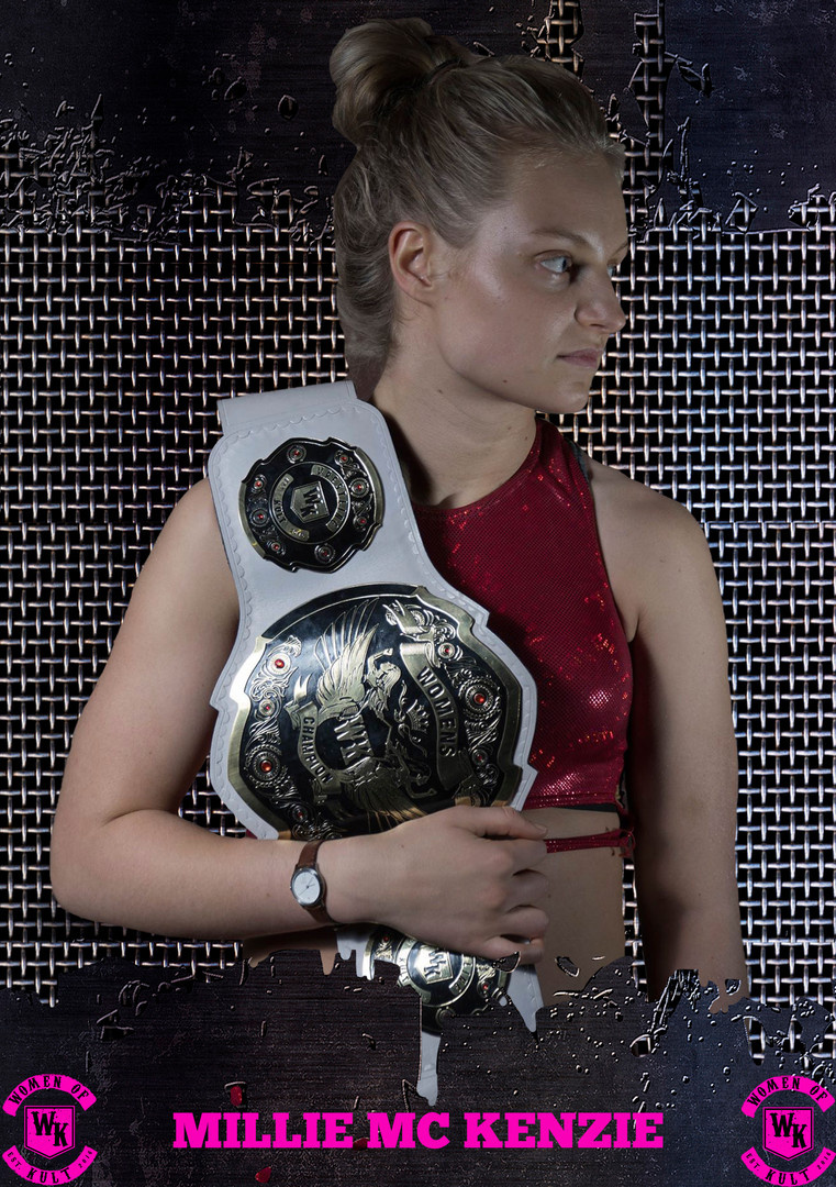 Women of Kult Champion Millie McKenzie