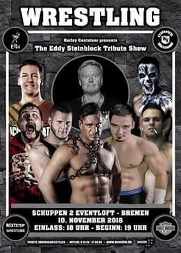 Erstes Auswärtsspiel für Wrestlingkult in Bremen