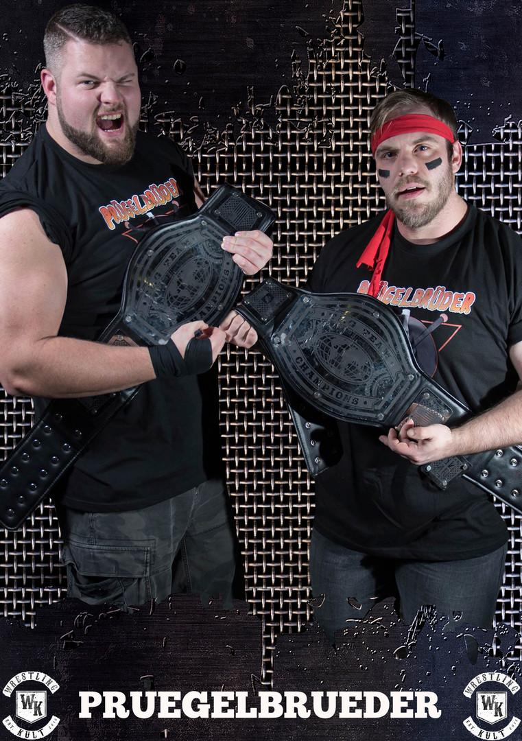 Tag Team Champions Prügelbrüder