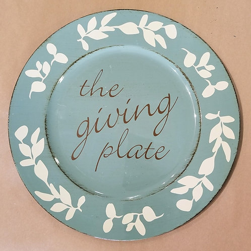 Giving Plates