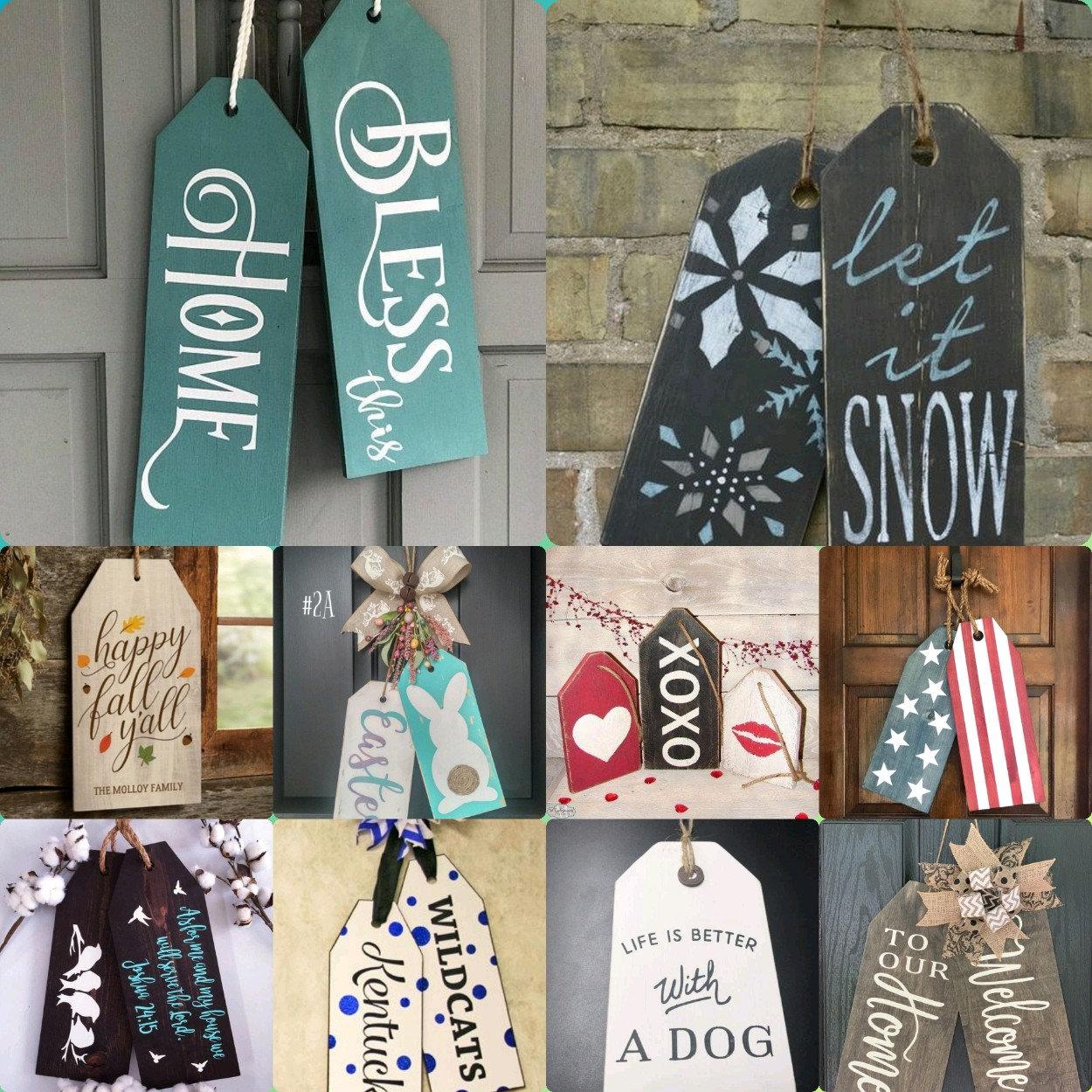 Customized Door Tags